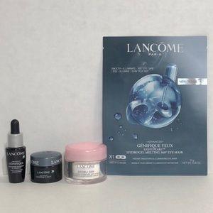 Lancôme 4pc sample size skin care bundle
